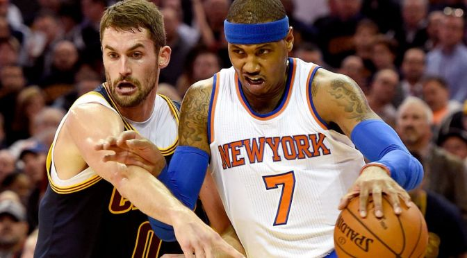 Rambling Thought: Camelo Anthony for Kevin Love Makes Sense