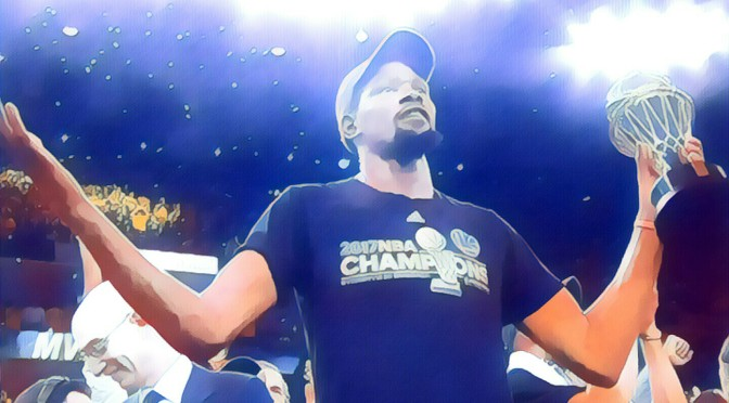 KD, Warriors Win 2016-17 NBA Championship