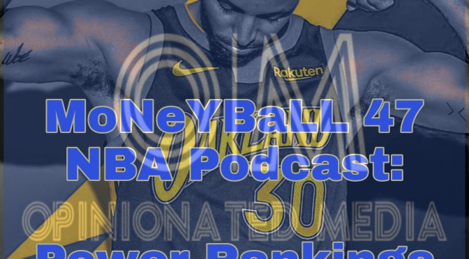 MoNeYBaLL 47 NBA Podcast: Early NBA Power Rankings