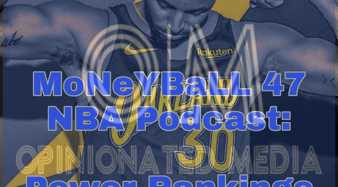 MoNeYBaLL 47 NBA Podcast: Early NBA Power Rankings
